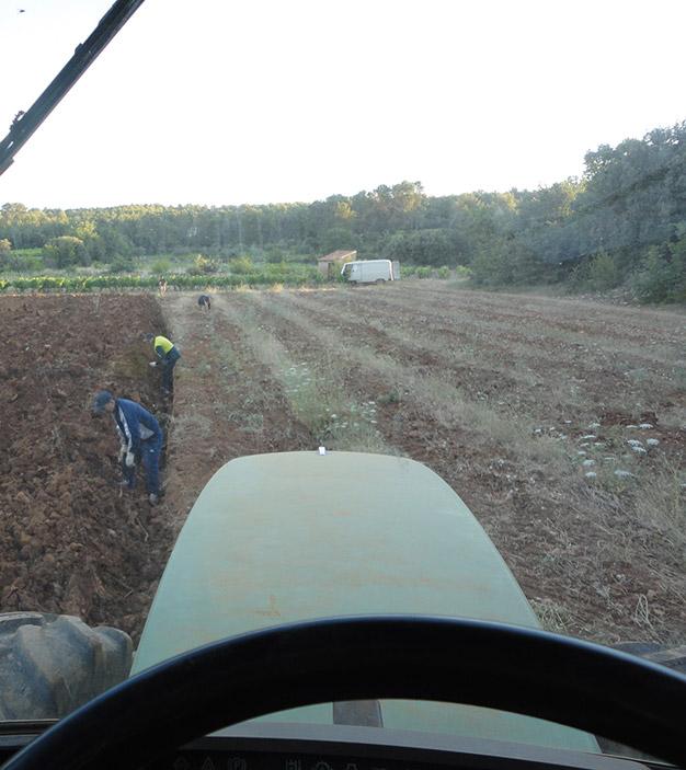 Deep ploughing