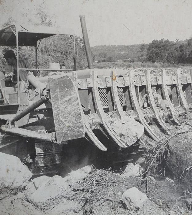 Terrassement 1970