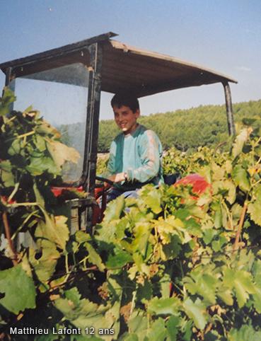 Portrait du vigneron